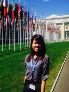Monica Chan at the United Nations main office (image source: Monica Chan)