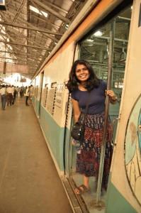 Sri at the Mumbai train station (image source: Sri Muppidi)