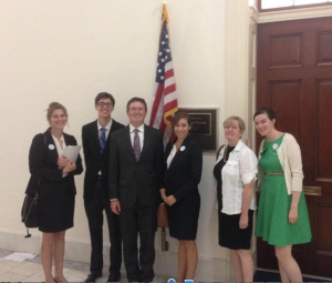 Photo with Rep. Massie!